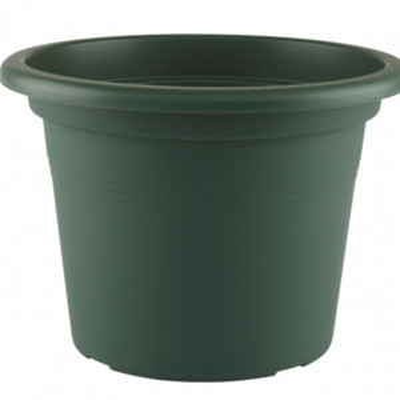 HORTA E JARDIM - 2455 - Vaso Cilindro Venezia 50cm Verde Escuro Artevasi