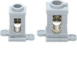 K216 - Borne flexível c/patas 2x16mm² HAGER EAN:3250610712016
