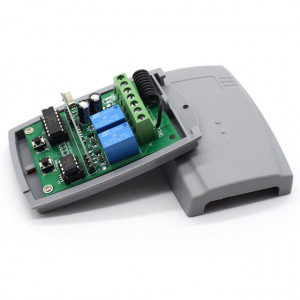 Recetor SMG-822 rolling code controle remoto 433mhz