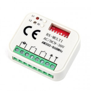 ROGER Emissor Bicanal Multimarcas e Multifrequência - RXMULTI