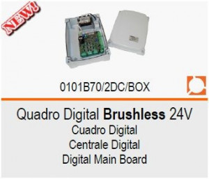 ROGER Quadro Digital Brushless 24V B70/2DC/BOX