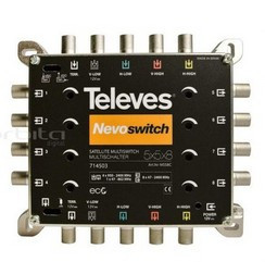 "TELEVES - 714503 - 8424450172803 Multiswitch 5x5x8 ""F"" Terminal/Cascata"