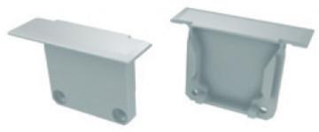 TP2122 - Topo Plastico Branco P/Perfil DAKAR - Quant. fornecida = 1 un