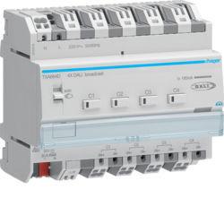 TXA664D - Variador DALI broadcast 4 canais KNX HAGER EAN:3250618502428