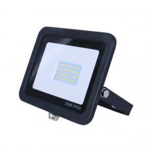 VG-30F120-NG - PROJETOR IP65 LED 30W, 110-220V (50/60HZ), 120º, 6000K, PT OMNIUM ELECTRIC