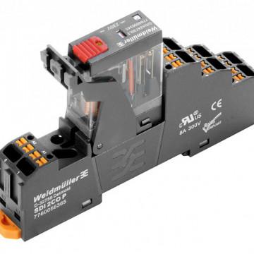 Weidmuller DRIKITP 24VAC 2CO LD/PB Push In 2576230000