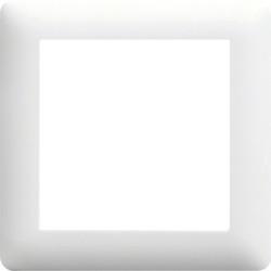 WL5010 - lumina 2 Quadro x1, branco HAGER EAN:8694407000019
