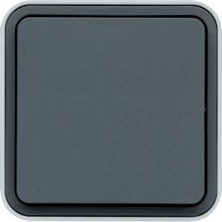 WNC020 - cubyko s - Botão simples, cinzento HAGER EAN:3250617170208