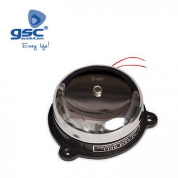 001400969 - Campainha de aço auxiliar de telefone 10 cm de diâmetro 86db 230 V 8436021949691