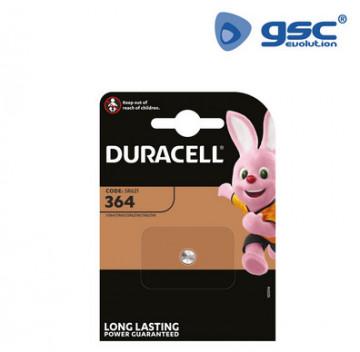 009000154 - Duracell 364 Blister 1 bateria de relógio 5000394067800