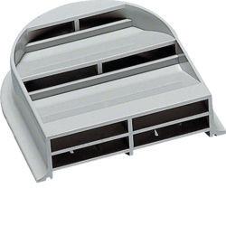 03 - FZ417 - 3250612764174 Par de grelhas de ventilação IP2X HAGER