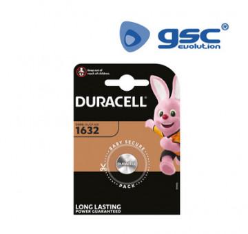 106000001 - Bateria de lítio Duracell DL1632 Blister 1 5000394007420