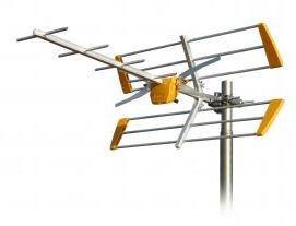 111940 -8424450171035 TELEVES - Antena Terrestre Yagi Edge UHF (C21-60) 10 Elementos G 10dBi (Embalagem coletiva)