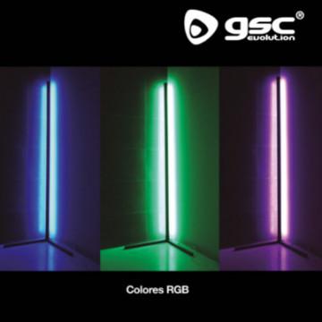 204405001 - Candeeiro de pé com controlo e sensor de som rítmico 18W RGB + 6500K