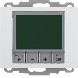 20447109 - K.1/K.5 - termóst. programável, branco BERKER EAN:4011334354765