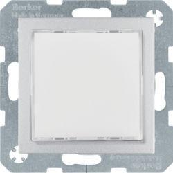 29531404 - S.1/B.x - Sinaliz. LED branco, alum mate BERKER EAN:4011334414322