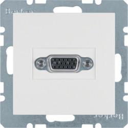 3315408989 - S.1/B.x - tomada VGA, branco BERKER EAN:4011334341666