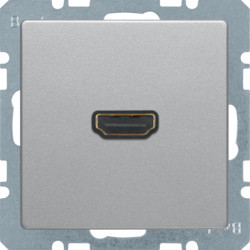 3315426084 - Q.x - tomada HDMI, alumínio BERKER EAN:4011334443780