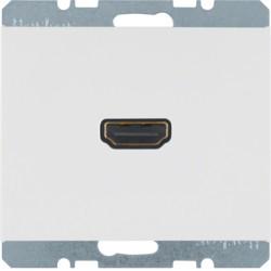 3315437009 - K.1/K.5 - tomada HDMI ficha 90º, branco BERKER EAN:4011334330660