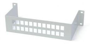 546610 -8424450166864 TELEVES - Painel para Suporte de Adaptadores Par de Cobre/Coaxial (Até 24 conexões)