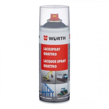 WURTH 0893397016 - SPRAY QUATTRO CINZA ANTRACITE RAL 7016