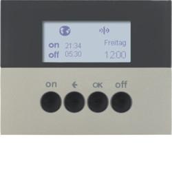 85745273 - K.1/K.5 - prog. horário KNX RF, aço inox BERKER EAN:4011334375531