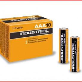 9000131 - 5000394131194 Caixa 10 Baterias Alcalinas Duracell Industrial LR03 (AAA)
