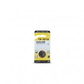 9000209 - 4902580133481 Bateria de lítio MAXELL CR2016 3V, Blister 1 unid.