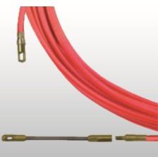 BAAS 760005 Guia Passa Cabos Baas Aço Flexível Coberto a Nylon 76 Ponteira Intercambiável 4mm 5M