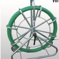BAAS 781010 Guia Passa Cabos Baas Aço Flexível Coberto Nylon 78 Ponteira Intercambiável 6mm 100M com Enrolador