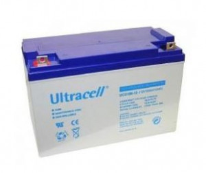 Bateria de Gel 12V 100Ah (330 x 172 x 222 mm) - Ultracell UCG100-12