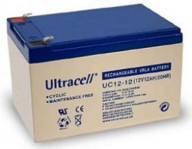 Bateria de Gel 12V 12Ah (151 x 99 x 95 mm) - Ultracell