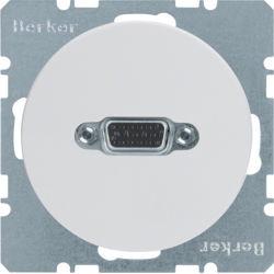 BERKER - 3315412089 - R.1/R.3 - tomada VGA paraf., branco 23