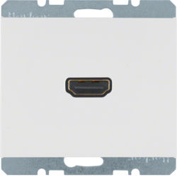 BERKER - 3315437009 - K.1/K.5 - tomada HDMI ficha 90º, branco 23