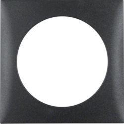 BERKER - 918272505 - Integro - quadro x1, antracite mate 23