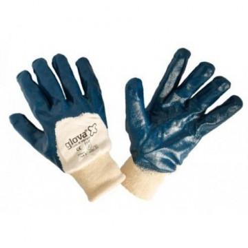 Equipamentos de Protecção - 5773 - Luva Nitrilo Azul Grosso Dorso Arej. 8
