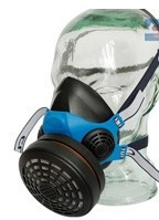Equipamentos de Protecção - 7033 - Meia Máscara C/ Filtro Central c/2 Valvulas CLS