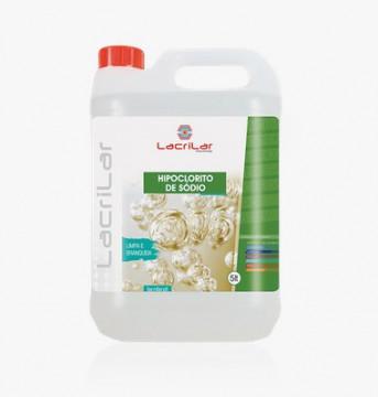 Higiene e Limpeza - 2884 - Hipoclorito de Sódio Lc Jerrikan 5 Lts Lacrilar