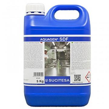 Higiene e Limpeza - 635 - AQUAGEN SDF 5Lt Limpador Clorado, Bactericida e Fungicida