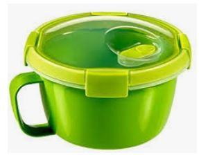 KETER CURVER 232569 Smart To Go Sopa & Noodles 0,9L P(cm)15,7 A(cm)10,8 L(cm)15,7