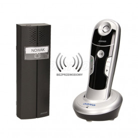OR-DOM-CL-910/W ORNO - Intercomunicador Wireless C/telefone