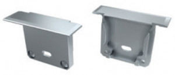 TP2121 - Topo Plastico Silver P/Perfil DAKAR - Quant. fornecida = 1 un
