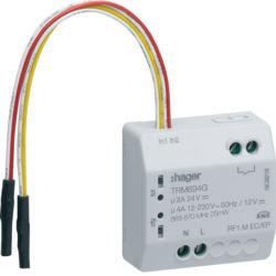 TRM694G - Micro módulo 2E + 1S LdP RF HAGER EAN:3250615988812