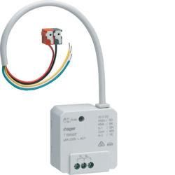TYB692F - Actuador bin 2 canais 6A+2E encast KNX-S HAGER EAN:3250616059399