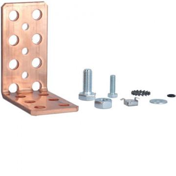 UT88B - Esquadro de fixação simples 50x5 mm HAGER EAN:3250616306516
