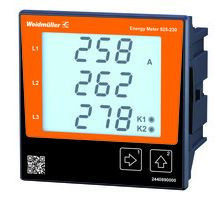 Weidmuller Energy Meter 525-230 - Modbus TCP/IP, Modbus RTU over Ethernet, SNMP 2540890000