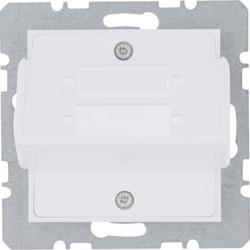 WL2410 - lumina 2 Suporte FO Duplex-SC, branco HAGER EAN:8694407001283