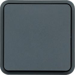 WNA020 - cubyko - Botão simples, cinzento HAGER EAN:3250617174206