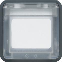 WNA450 - cubyko - Adaptador 45x45 2M, cinzento HAGER EAN:3250617174503