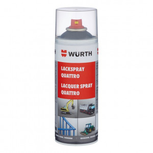 WURTH 0893397016 - SPRAY QUATTRO CINZA ANTRACITE RAL 7016